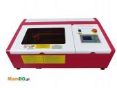 Ploter laserowy co2 pieczątek i tabliczek. Grawerka laserowa